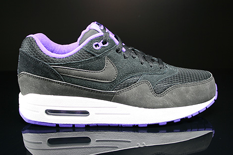 Nike WMNS Air Max 1 Essential Black Black Hyper Grape White Right