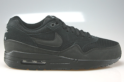 Nike WMNS Air Max 1 Essential Schwarz Anthrazit Grau