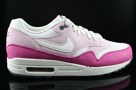 Nike WMNS Air Max 1 Essential Pink Rosa Weiss Anthrazit