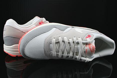 Nike WMNS Air Max 1 Essential Weiss Grau Dunkelgrau Rose Oberschuh