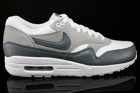 huge discount fdef5 424e5 ... Nike WMNS Air Max 1 Essential White Cool Grey Wolf Grey Light Base Grey  Right ...