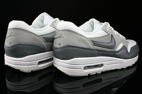 Nike WMNS Air Max 1 Essential White Cool Grey Wolf Grey Light Base Grey Back view