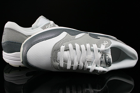 Nike WMNS Air Max 1 Essential White Cool Grey Wolf Grey Light Base Grey Over view