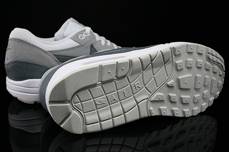 Nike WMNS Air Max 1 Essential White Cool Grey Wolf Grey Light Base Grey Outsole