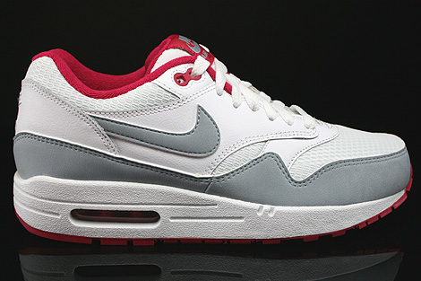 Nike WMNS Air Max 1 Essential White Light Magnet Grey Fuchsia White