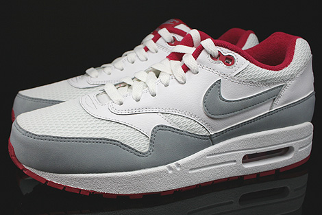 Nike WMNS Air Max 1 Essential White Light Magnet Grey Fuchsia White Profile