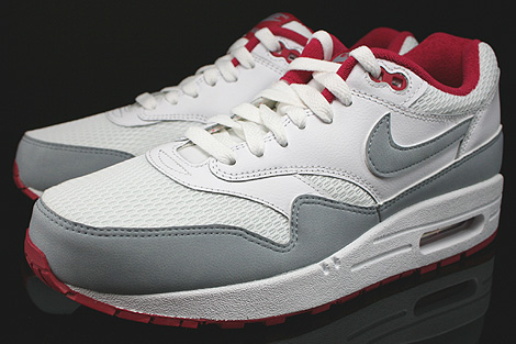 Nike WMNS Air Max 1 Essential White Light Magnet Grey Fuchsia White Sidedetails