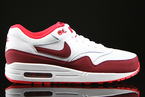 Nike WMNS Air Max 1 Essential White Team Red Action Red Right