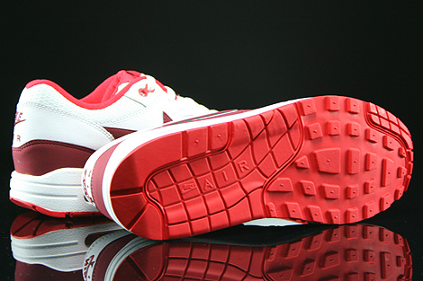 Nike WMNS Air Max 1 Essential White Team Red Action Red Outsole