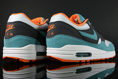 Nike WMNS Air Max 1 Gridiron Mineral Blue White Over view