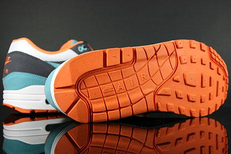 Nike WMNS Air Max 1 Gridiron Mineral Blue White Shoebox