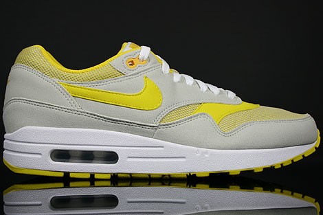 Nike WMNS Air Max 1 Light Bone Speed Yellow White