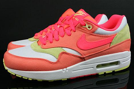 Women's Nike Wmns Air Max 1 ND Melon Crush Hot Punch Sneakers : Q56c4339