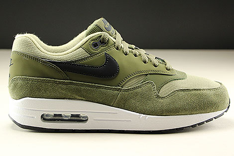5b2ba29fab8c ... Nike WMNS Air Max 1 Olive Canvas Black Neutral Olive White Right ...