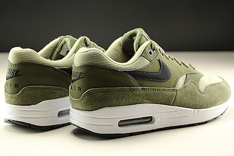 Nike WMNS Air Max 1 Olive Canvas Black Neutral Olive White Rueckansicht