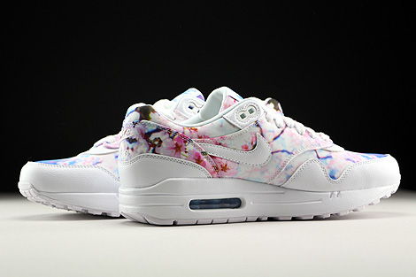 Nike WMNS Air Max 1 Print White White University Blue Inside