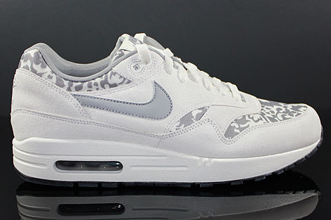 Nike WMNS Air Max 1 Grau Hellgrau Weiss