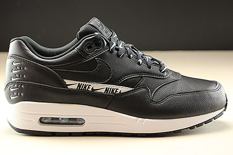 Nike WMNS Air Max 1 SE Black Black White Right