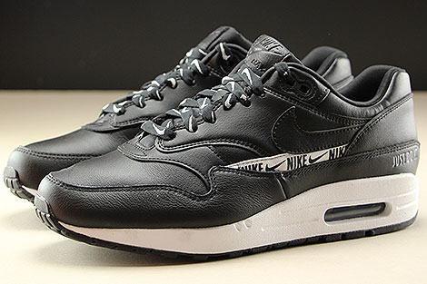 Nike WMNS Air Max 1 SE Black Black White Profile