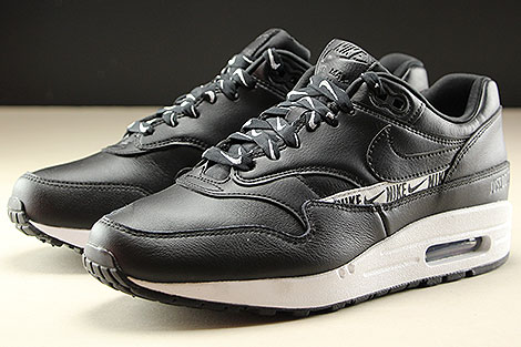 Nike WMNS Air Max 1 SE Black Black White Seitendetail