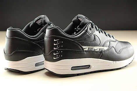 Nike WMNS Air Max 1 SE Black Black White Back view