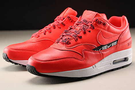 Nike WMNS Air Max 1 SE Bright Crimson Seitendetail