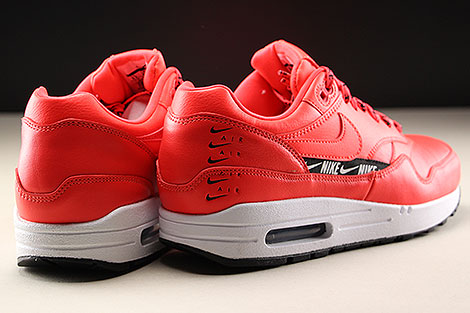 Nike WMNS Air Max 1 SE Bright Crimson Back view
