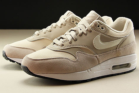 Nike WMNS Air Max 1 String Sail Light Cream Black Seitendetail