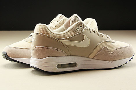 Nike WMNS Air Max 1 String Sail Light Cream Black Innenseite