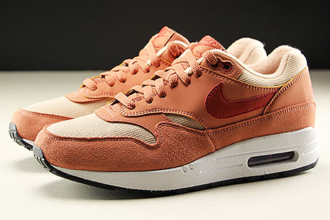Nike WMNS Air Max 1 Terra Blush Dune Red Bio Beige Profile