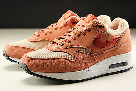 Nike WMNS Air Max 1 Terra Blush Dune Red Bio Beige Seitendetail