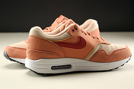 Nike WMNS Air Max 1 Terra Blush Dune Red Bio Beige Inside