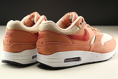 Nike WMNS Air Max 1 Terra Blush Dune Red Bio Beige Back view