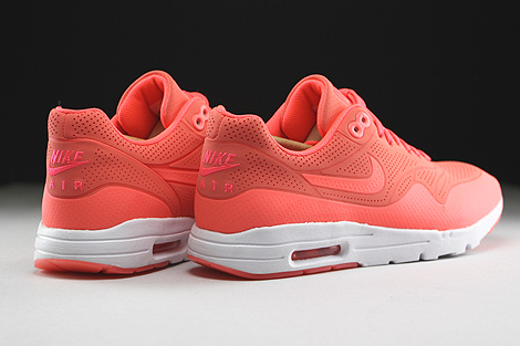 Nike WMNS Air Max 1 Ultra Moire Hot Lava Hot Lava White Back view