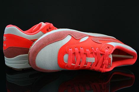 Nike WMNS Air Max 1 Vintage Sail Bright Mango Total Crimson Over view
