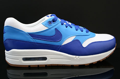 Nike WMNS Air Max 1 Vintage Dunkelblau Blau Weiss Braun