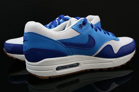 Nike WMNS Air Max 1 Vintage Dunkelblau Blau Weiss Braun Innenseite