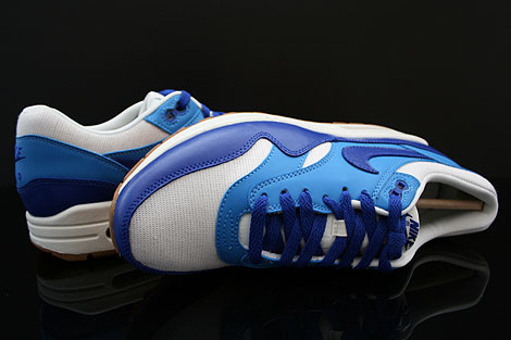 Nike WMNS Air Max 1 Vintage Sail Hyper Blue Blitz Blue Gum Over view
