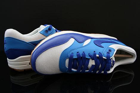 Nike WMNS Air Max 1 Vintage Dunkelblau Blau Weiss Braun Oberschuh