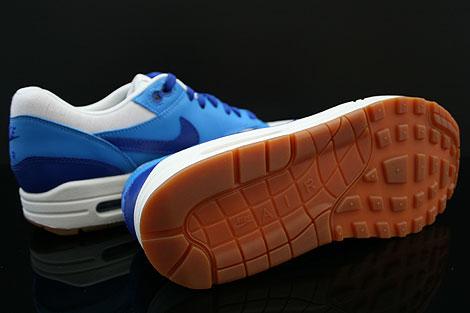 Nike WMNS Air Max 1 Vintage Dunkelblau Blau Weiss Braun Laufsohle