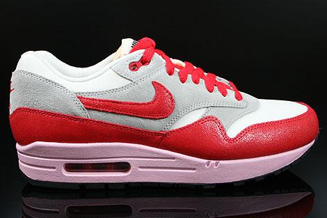 Nike Wmns Air Max 1 Vntg Voile Hyper Gris Rouge