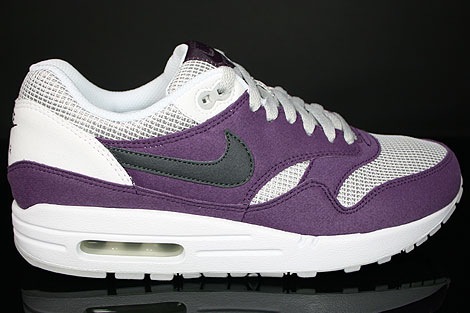 Nike WMNS Air Max 1 Wine Anthracite Neutral Grey White
