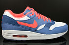 Nike WMNS Air Max 1 Wolf Grey Sunburst Utility Blue