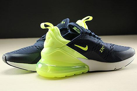 Nike Womens Air Max 270 Obsidian Volt Glow Volt Glow Innenseite