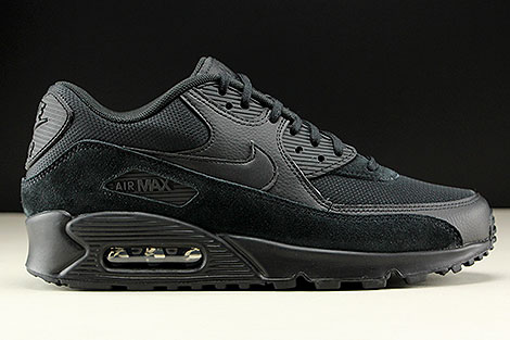 Nike WMNS Air Max 90 Black Black Black Right