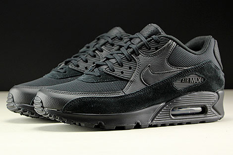 Nike WMNS Air Max 90 Black Black Black Profile