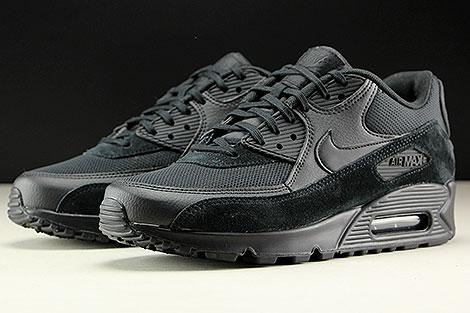 Nike WMNS Air Max 90 Black Black Black Sidedetails