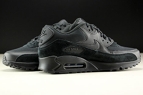Nike WMNS Air Max 90 Black Black Black Inside
