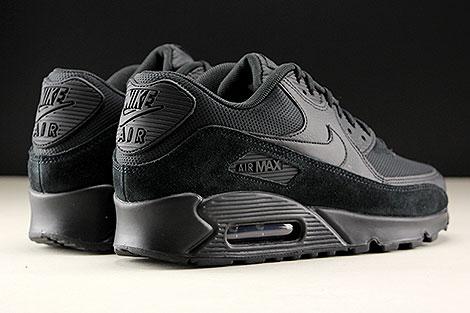 Nike WMNS Air Max 90 Schwarz Rueckansicht