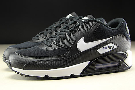 Nike WMNS Air Max 90 Black White Profile